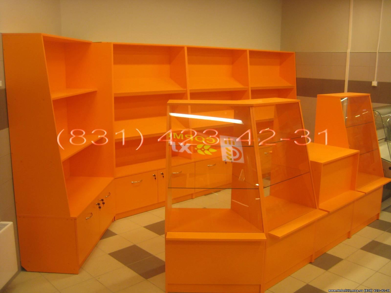 Торговая мебель под заказ.